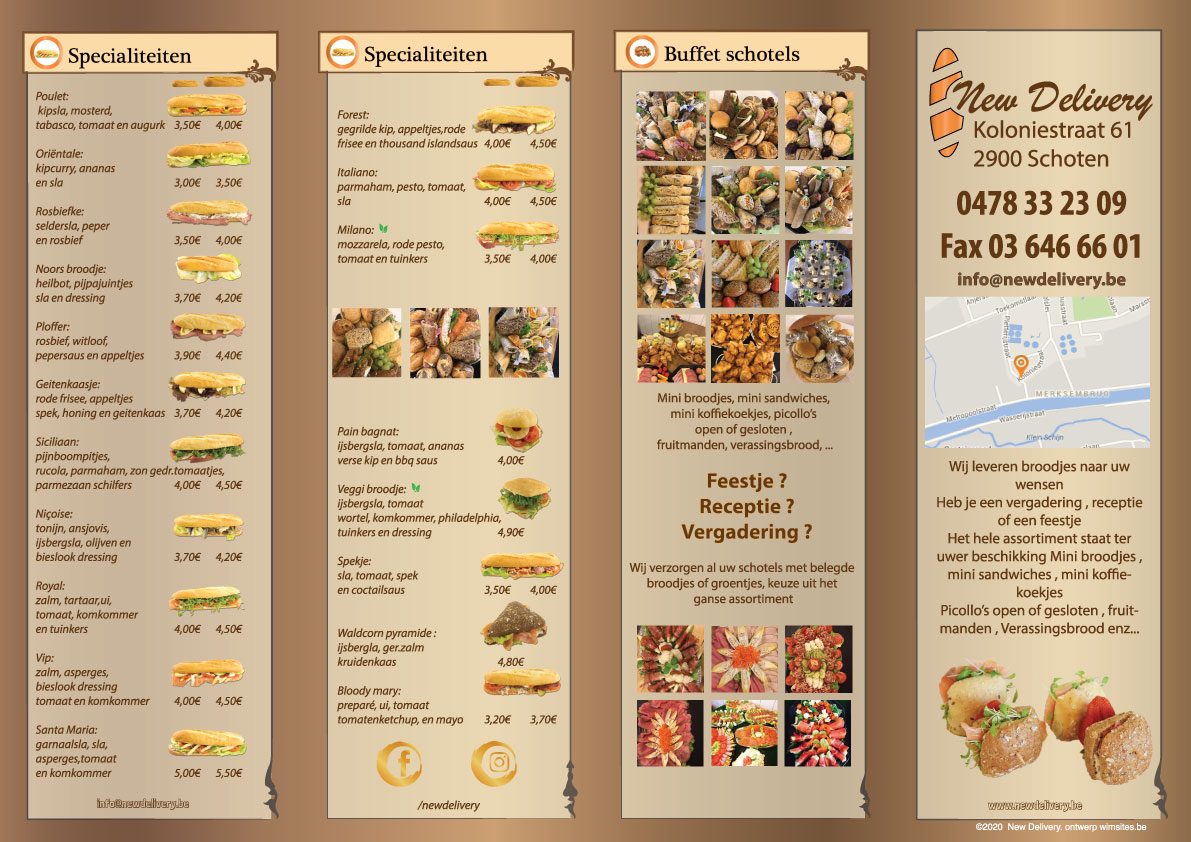 newdelivery menu flyer mei2020A